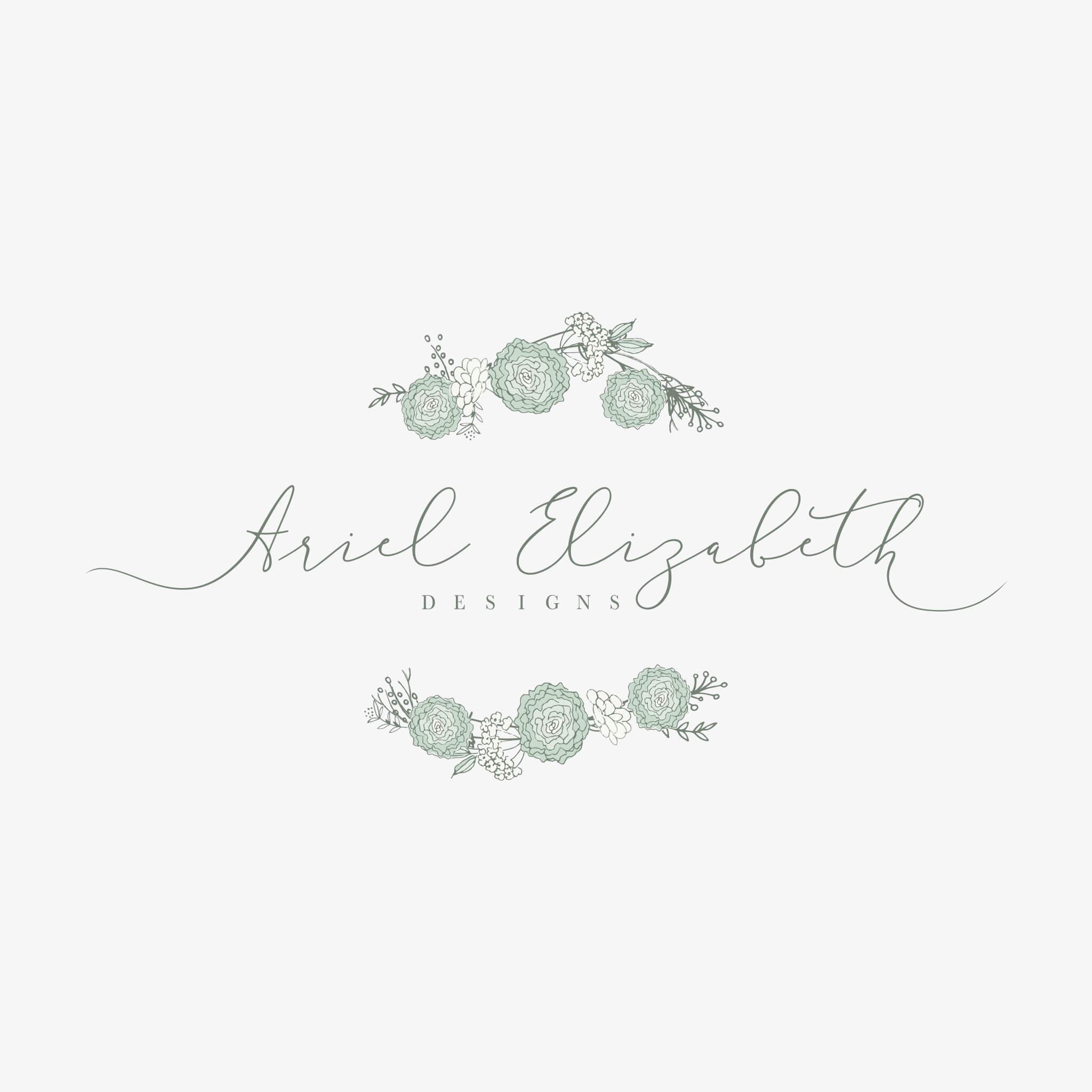 Logo Design for Ariel Elizabeth Designs