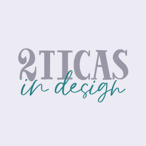 2 Ticas in Design Logo
