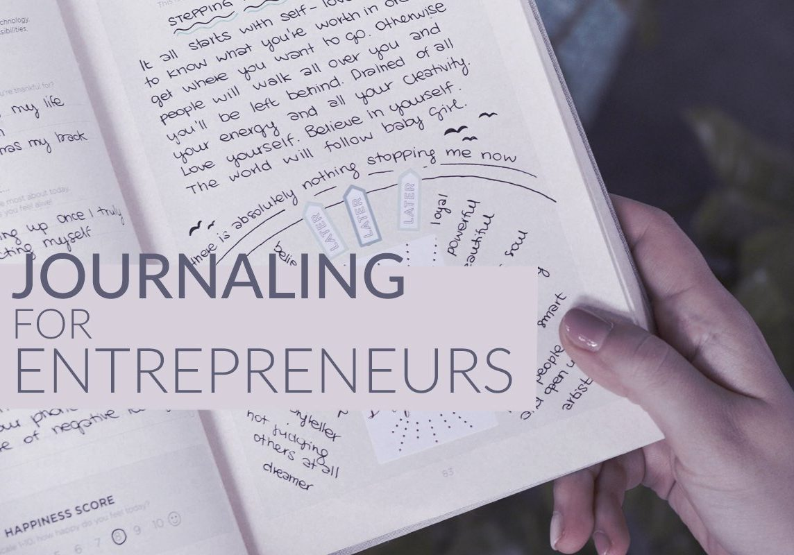 Journaling for Entrepreneurs – Free workbook to help you implement mindful practices into your business